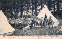 BOY-SCOUTS DE BELGIQUE - PALAIS DÂ'EGMONT - BRUXELLES -  N° 6 - Distribution Du Matériel De Couchage - Scoutisme