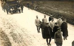 Le Tréport - 19 Cartes Photos - Délégation Des Officiers Français à L'enterrement Du Capitaine Heath 1916 + Autres !!! - Le Treport