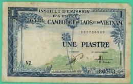 Piastre - Vietnam - Cambodge Laos - N° N2 - 003736533 - TB+ - - Vietnam