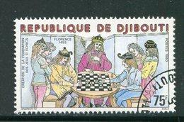 DJIBOUTI- Y&T N°520- Oblitéré (échecs) - Echecs