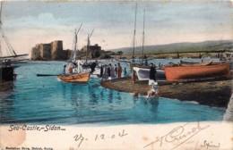 Liban - Sidon - Saïda - Sea-Castle - Liban
