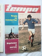 1974 TEMPO YUGOSLAVIA SERBIA SPORT FOOTBALL MAGAZINE NEWSPAPERS WM74 GEORGE FORMAN BOXING Vyacheslav Lemeshev TENNIS - Autres