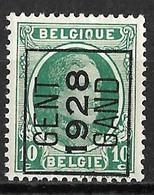 Gent 1928  Typo Nr. 180A - Préoblitérés