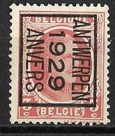 Antwerpen 1929  Typo Nr. 183B - Préoblitérés