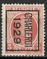 Charleroy 1929  Typo Nr. 185B - Préoblitérés