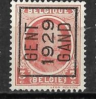 Gent 1929  Typo Nr. 186A - Préoblitérés