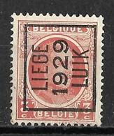 Luik 1929  Typo Nr. 188A - Préoblitérés