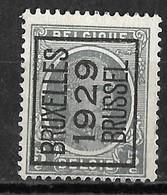 Brussel 1929  Typo Nr. 190A - Préoblitérés