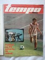 1974 TEMPO YUGOSLAVIA SERBIA SPORT FOOTBALL MAGAZINE NEWSPAPER WM74 ZAIRE  AFRICA HOLEND Renate Stecher BOX MARJAN BENES - Deportes