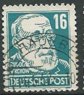 Allemagne Zone Sovietique Emission Générale  - Yvert N° 38 Oblitéré    - Po60104 - Soviet Zone