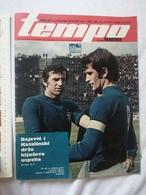 1973 TEMPO YUGOSLAVIA SERBIA SPORT FOOTBALL MAGAZINE NEWSPAPERS Eddy Merckx CYCLING DOPE DENMARK ANDERSON DISK ATHLETICS - Deportes