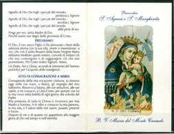 SANTINO - B.V. Maria SS. Del Carmine- Santino Pieghevole Come Da Scansione - Devotion Images