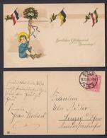 Ansichtskarte Herzlichen Glückwunsch Zum Namenstage Gestempelt Köln 1918  - Ansichtskarten