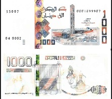 Algeria - 1000 Dinars 2018 / 2019 UNC Pick New Lemberg-Zp - Algeria