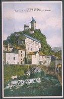 FOIX - Vue Sur Le Chateau Et Le Palais De Justice - Foix