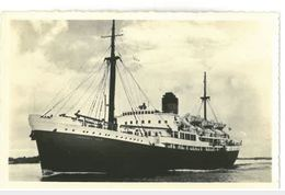 CP Photographie Transat Commandant Quéré Corse 1950 - Dampfer