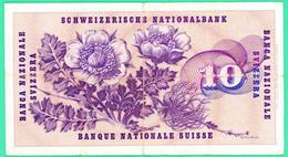 10 Francs - Suisse - Fevrier 1974 - N° - 024732 - TB+ - - Suisse