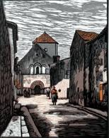 Dép. De La VIENNE - BONNEUIL-MATOURS  - BOIS ORIGINAUX GRAVES Par JEHAN BERJONNEAU EN 1932 - Engravings