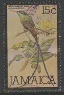 Jamaica 1980 Local Motifs - Birds And Sport 15 C Multicoloured SW 484 O Used - Jamaica (1962-...)