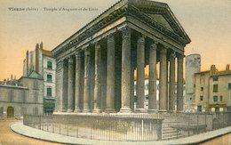 38 - VIENNE - Temple D'Auguste Et De Livie - Vienne
