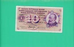 10 Francs - Suisse - N° 019337  Série 91 A -1974 - TB + - Suisse