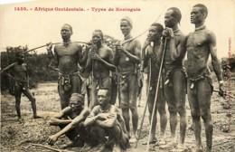 Afrique-Occidentale Française - Types De Koniaguis - Cartes Postales