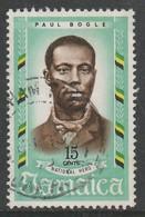 Jamaica 1970 National Heroes 15 C Multicoloured SW 305 O Used - Jamaica (1962-...)