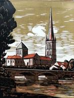 Dép. De La VIENNE - SAINT-SAVIN- BOIS ORIGINAUX GRAVES Par JEHAN BERJONNEAU EN 1932 - Engravings
