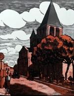 Dép. De La VIENNE - CHAUVIGNY - BOIS ORIGINAUX GRAVES Par JEHAN BERJONNEAU EN 1932 - Engravings