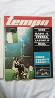 1975 TEMPO YUGOSLAVIA SERBIA SPORT FOOTBALL MAGAZINE NEWSPAPERS PAVLE SOVLJANSKI BOXING INDEPENDIENTE REAL MADRID ZVEZDA - Sports