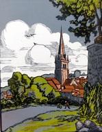 Dép. De La VIENNE - SAINT-BENOIT - BOIS ORIGINAUX GRAVES Par JEHAN BERJONNEAU EN 1932 - Engravings