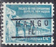 USA Precancel Vorausentwertung Preo, Locals Florida, Mango 837 - Precancels