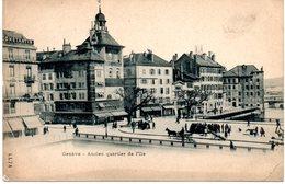 Suisse. Geneve. Ancien Quartier De L'ile. Coin Bas Droit Abimé - GE Genève