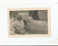PERPIGNAN LES PLATANES (66) CIRCUIT DU GRAND PRIX DE ROUSSILLON 1947 PHOTO DU PILOTE PHILIPPE ETANCELIN SUR DELAGE 3000 - Automobiles