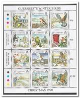 Guernsey 1990, Postfris MNH, Birds, Christmas - Guernsey