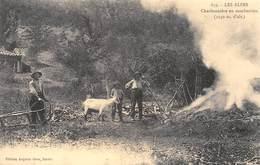 Charbonnière En Combustion - Schlitteur - Charbonnier - Cecodi N'295 - Frankreich