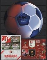 Peru (2018) - 2 Blocks - PACK Special  /  Soccer - Futbol - Calcio - Football - FIFA World Cup Russia - World Cup