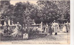 62 BLANGY SUR TERNOISE - Cours De  Hospice Ste Berthe  Nain - CPA  9x14 N/B  BE - Altri Comuni