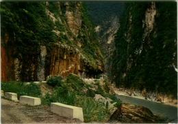 TAIWAN / CHINA - SCENE OF TAROKO GORGE - VINTAGE POSTCARD 1970s( BG2532 ) - Taiwan