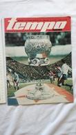 1973 TEMPO YUGOSLAVIA SERBIA SPORT FOOTBALL MAGAZINE NEWSPAPERS STATE CUP TITO MIROSLAV CERAR ATHLETICS FUSSBALL ZEITUNG - Deportes