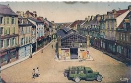 Cpa 23 Guéret Place Du Marché - Guéret