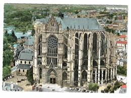 60 Beauvais Vue Aérienne La Cathédrale (2 Scans) - Beauvais