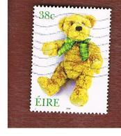 IRLANDA (IRELAND) - SG 1509  -   2002  TOYS: TEDDY BEAR     - USED - 1949-... Repubblica D'Irlanda