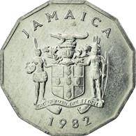 Monnaie, Jamaica, Elizabeth II, Cent, 1982, British Royal Mint, TTB, Aluminium - Jamaique