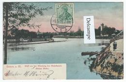 HANAU A. M. - Blid Von Der Mündung Des Mainfanals (Fleiner Main) - Hanau