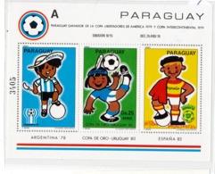 Block 358  **   URUGUAY - 1982 – Espagne
