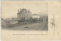 Puy De Dome : Brassac Les Mines, Les Dragons Pendant La Grève 1903 - Autres Communes