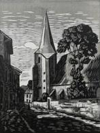 Dép. De La VIENNE - DISSAY - BOIS ORIGINAUX GRAVES Par JEHAN BERJONNEAU EN 1932 - Engravings