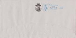 Deutschland (Thüringen) Jena, Stadtwappen. Moderne Privatpost Safe Mail Hermsdorf: Bedarfsbrief, Stadtverwaltung Jena - Buste