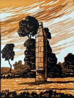 Dép. De La VIENNE - MOUSSAC - BOIS ORIGINAUX GRAVES Par JEHAN BERJONNEAU EN 1932 - Engravings
